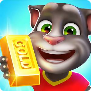 Talking tom gold run logo