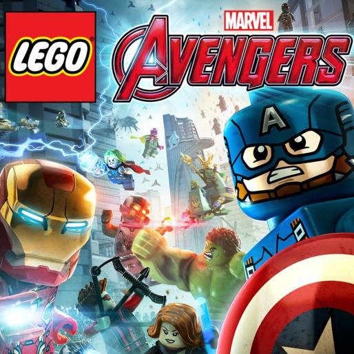 Lego marvels avengers logo