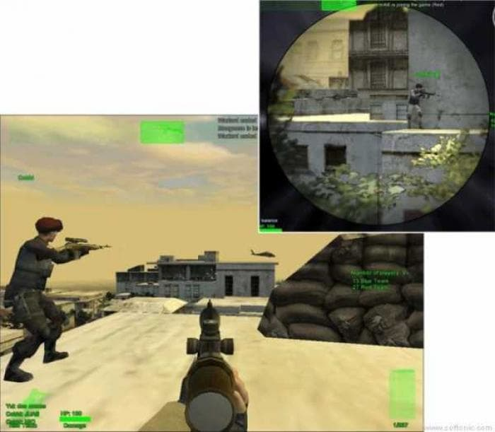 Delta force black hawk down official screenshot