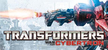 Transformers war for cybertron logo