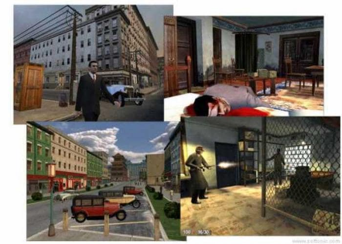 Mafia the city of lost heaven screenshot