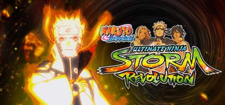 Naruto shippuden ultimate ninja storm revolution logo