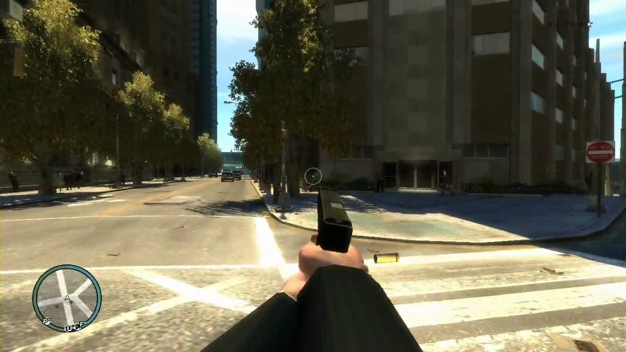 Gta iv first person mod logo