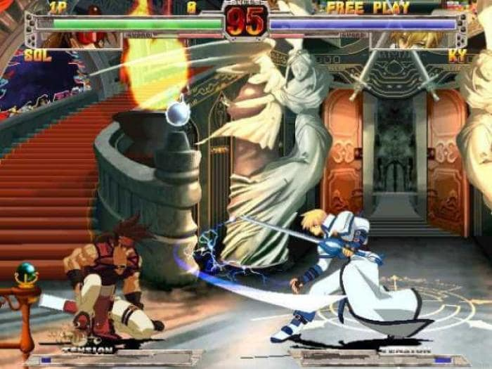 Guilty gear x screenshot