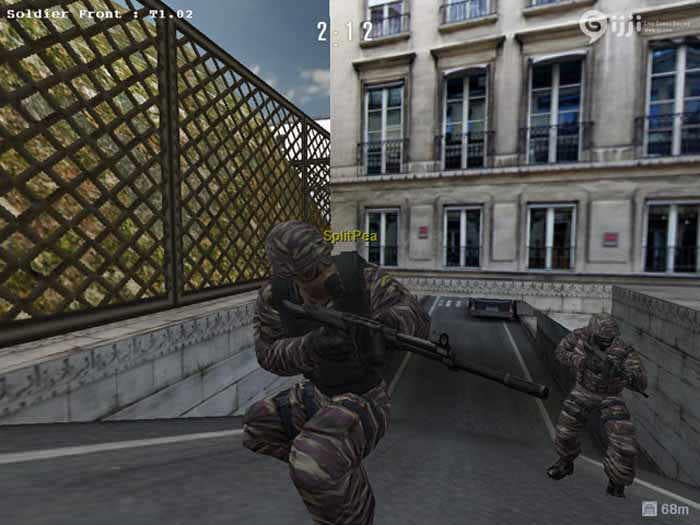 Soldier front screenshot
