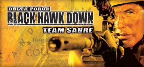 Delta force black hawk down team sabre logo