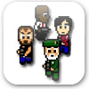 Pixel force left 4 dead logo