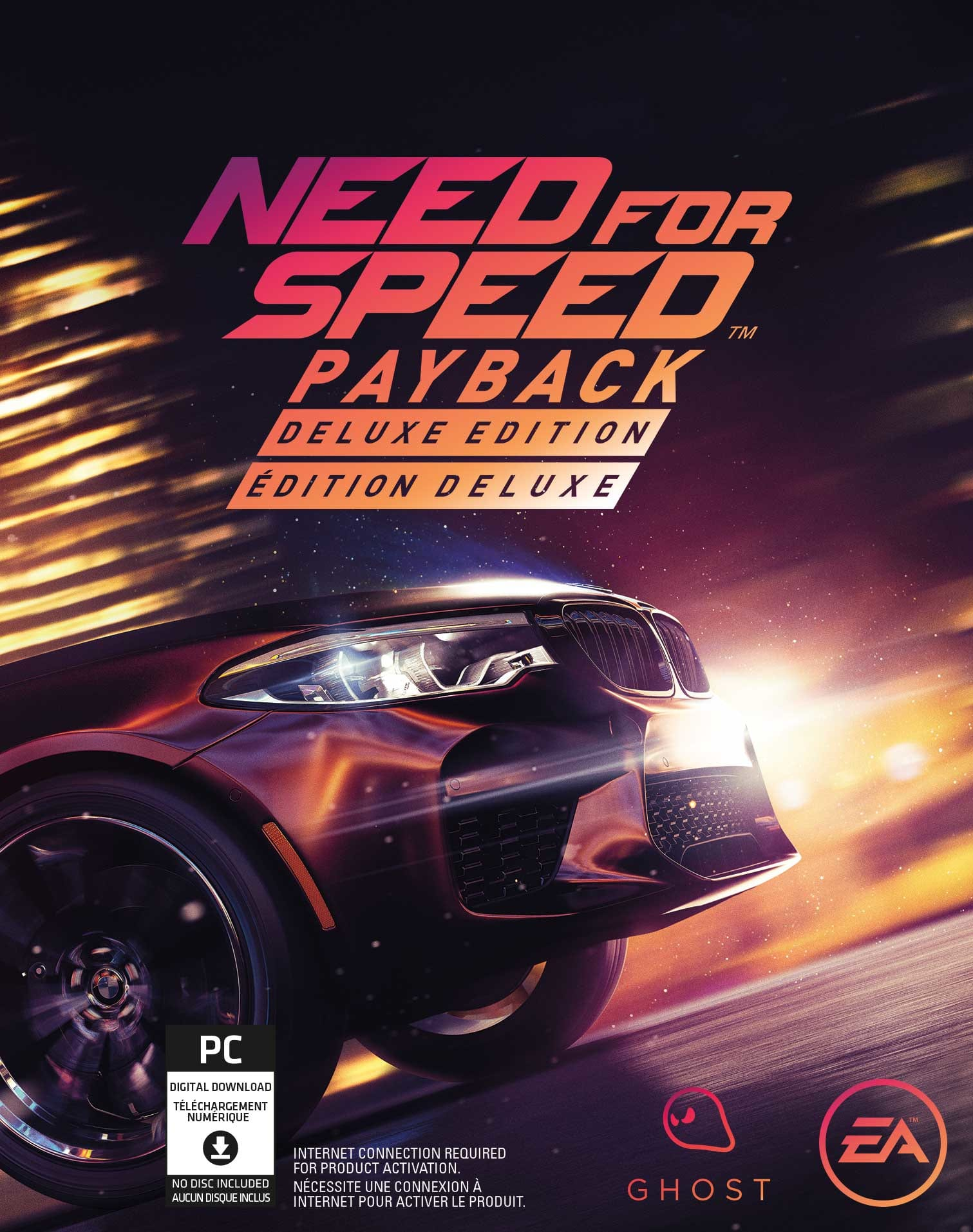 Need for speedtm payback logo