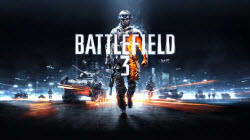 Battlefield 3 launch trailer logo