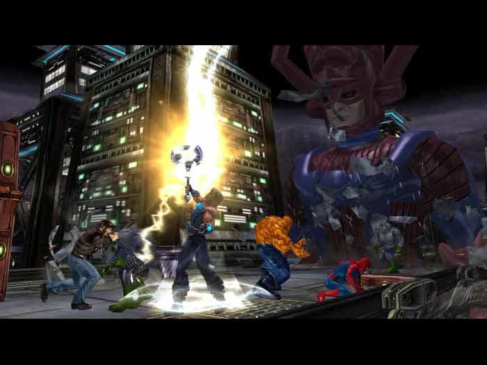 Marvel ultimate alliance screenshot