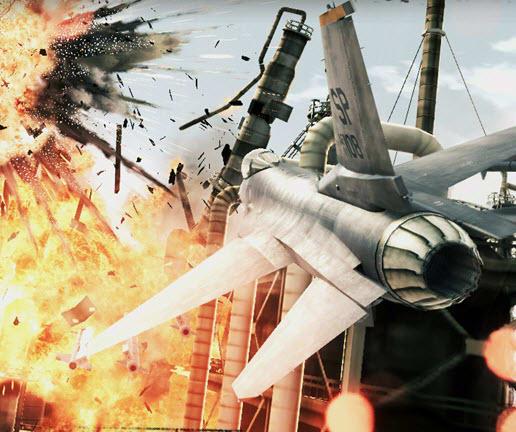 Ace combat assault horizon enhanced edition logo