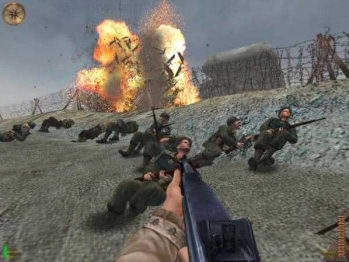 Medal of honor allied assault screenshot
