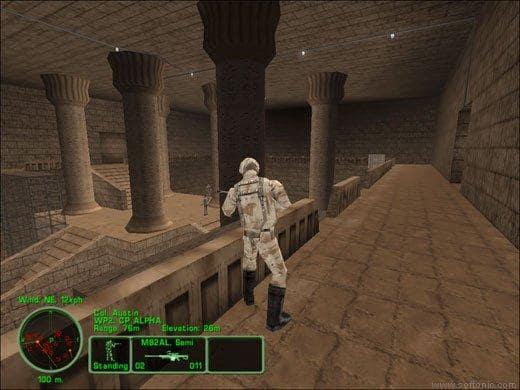 Delta force land warrior demo screenshot