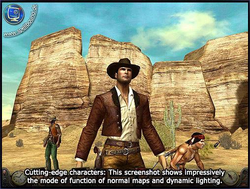 Desperados 2 coopers revenge screenshot