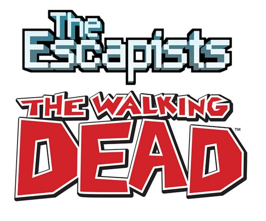 The escapists the walking dead logo