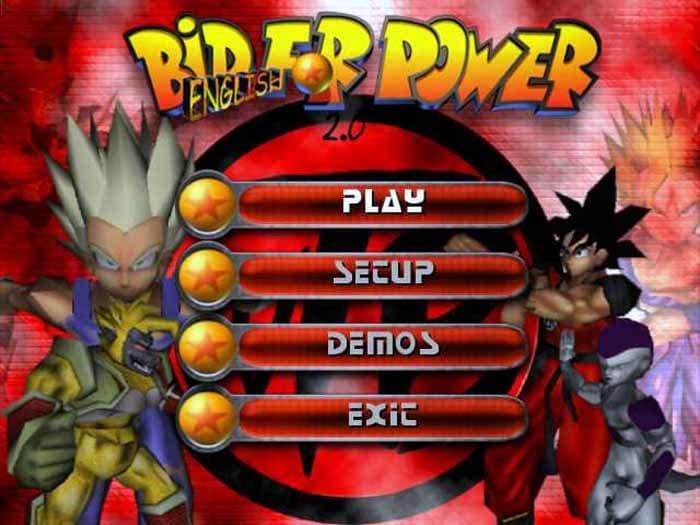 Bid for power screenshot