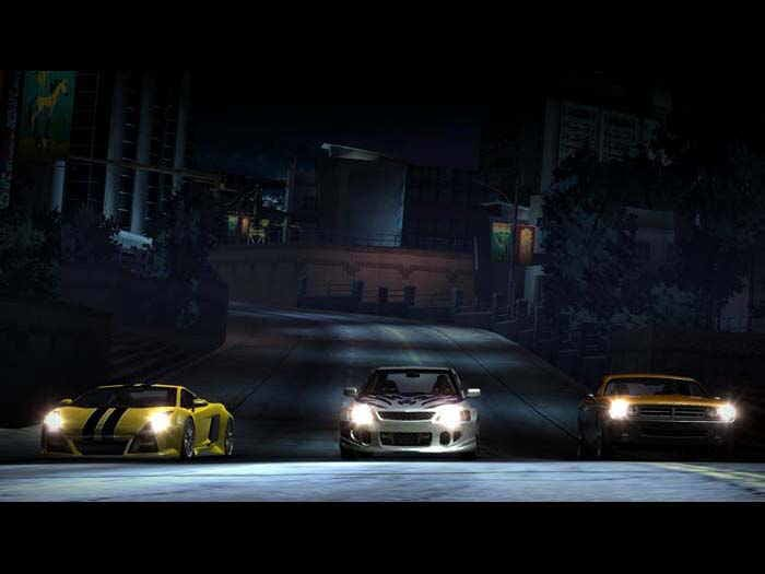 Need for speed carbono screenshot