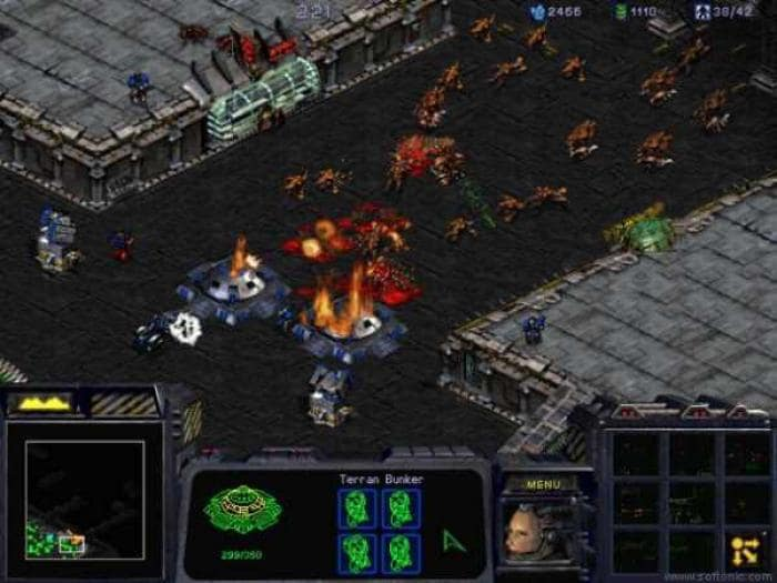 Starcraft update screenshot