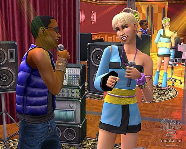 The sims 2 nightlife trailer screenshot