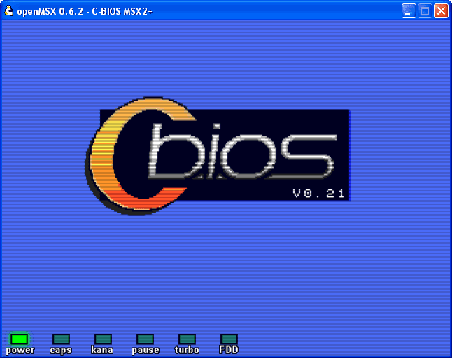 Openmsx screenshot