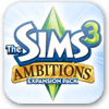 The sims 3 ambitions logo