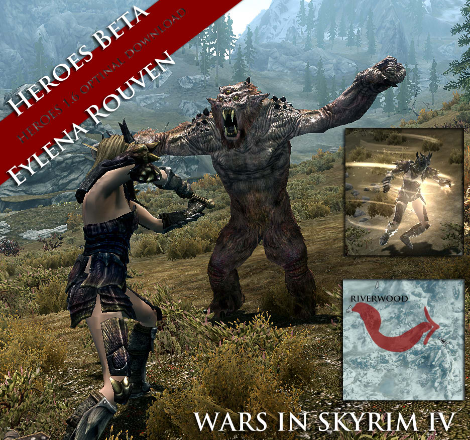 Wars in skyrim logo