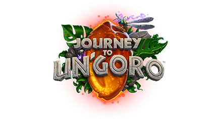 Journey to ungoro hearthstone card packs logo